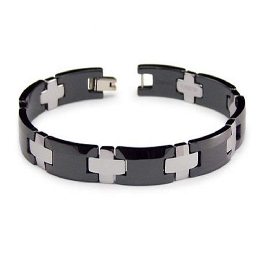 Men's Tungsten Ceramic Bracelets