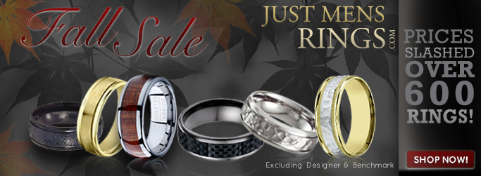 Fall Sale Extravaganza! Get your favorite men�s ring today!