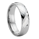 Faceted Tungsten Ring - JTG0005