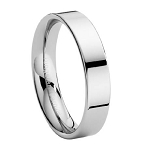 Tungsten Wedding Band with Flat Profile - JTG0013