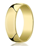 14K Yellow Gold Designer Wedding Ring For Men | 6mm