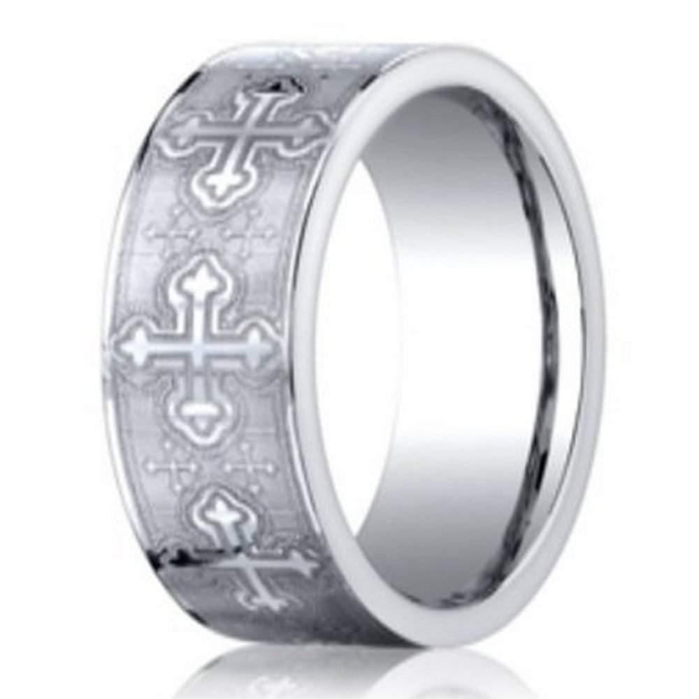 s cobalt christian wedding band from benchmark 7mm
