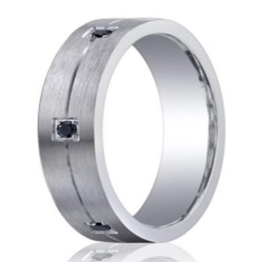 mens argentium silver wedding ring from benchmark 5mm