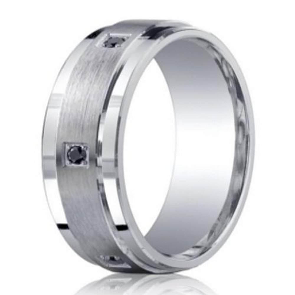 Mens Argentium Silver Band From Benchmark