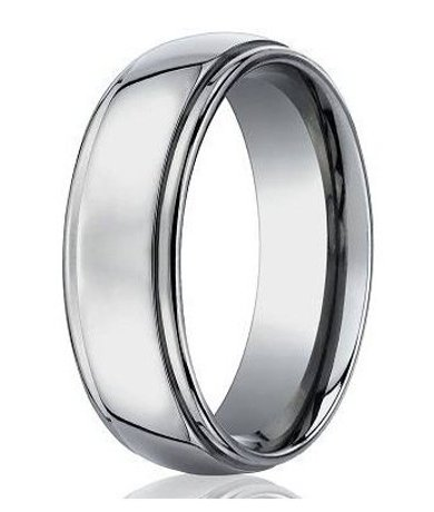 Benchmark Titanium Wedding Bands