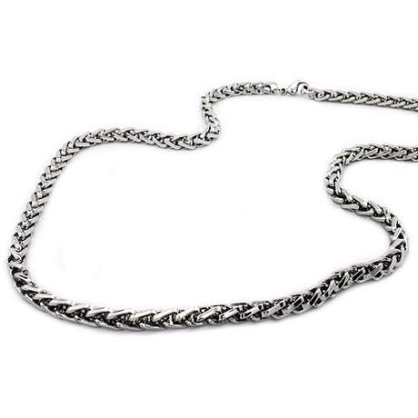 celtic style mens necklace stainless steel