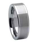 Tungsten Carbide Wedding Ring - JTG0006