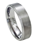 Tungsten Wedding Band with Satin Finish - 7mm-JTG0075