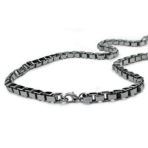 "Box Link 24"" Stainless Steel Chain for Men - JN1016"