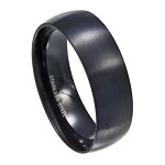 Black Stainless Steel Band - JSS0081