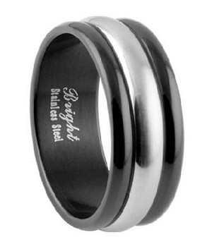 Men's Black Stainless Steel Band - JSS0604
