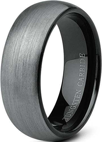 Men's Tungsten Fashion Rings