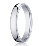 Men's Designer Heavy Fit 14K White Gold Wedding Band | 3.5mm
