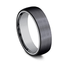 Black Titanium Outer Band with an Inner Tantalum Band 6.5mm