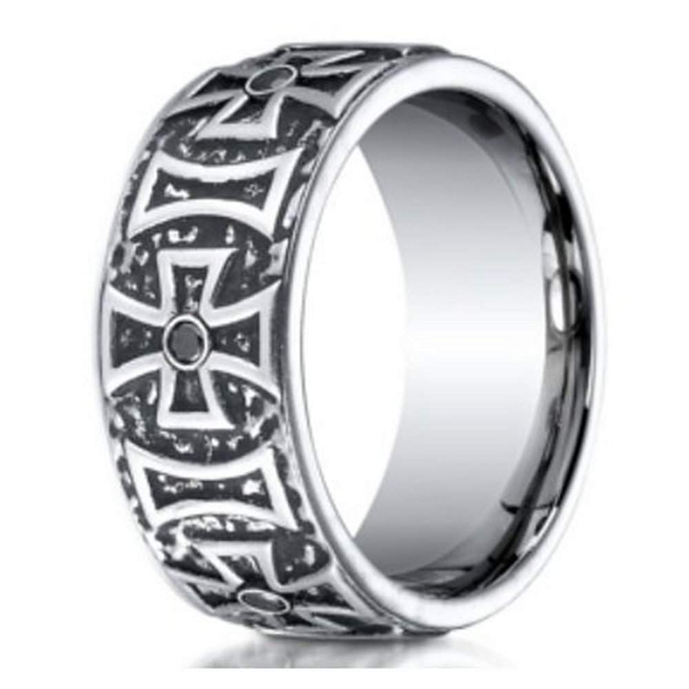 Men's Cobalt Chrome Fashion Rings
