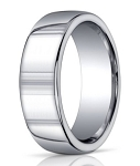 Designer Argentium Silver Domed Men's Ring | 10mm