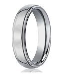 Men's Benchmark Titanium Wedding Ring with Polished Finsh | 5mm - JBT1016