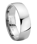 Titanium High Polish Wedding Band - JT0113