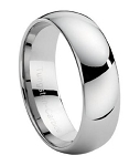 Classic Tungsten Wedding Band - JTG0015