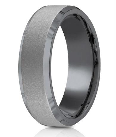 Men's Tantalum Wedding Rings