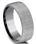 Benchmark 8mm Tantalum Swirl Finish Ring