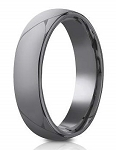 Benchmark Tantalum 6.5mm Domed Design Ring