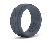 ENSO Men's Infinity Silicone Ring - Slate