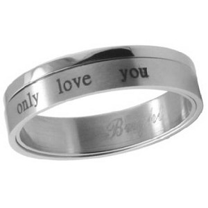 """Only Love You"" Two Piece Ring - JSS0613"