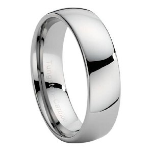 Wide Tungsten Wedding Band - JTG0016