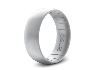 ENSO Classic Elements Silicone Ring - Silver