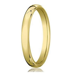 Designer Heavy Fit 14K Yellow Gold Men's Wedding Band | 3.5mm
