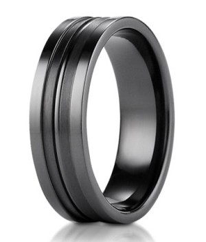 tone jewellery ring p context the two s brushed men rings large beaverbrooks mens titanium