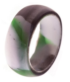 9mm High Performance Stealth Camo Silicone Wedding Band